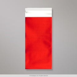 220x110 mm (DL) Red Matt Foil Bag