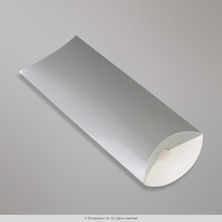 220x110+35 mm (DL) Silver Pillow Box