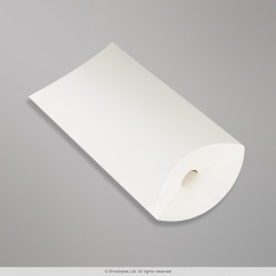 162x114+35 mm (C6) White Pillow Box