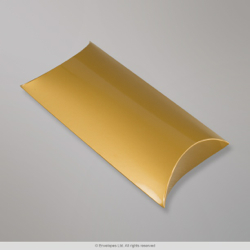 405x324 mm Gold Pillow Box