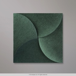 145x145 mm Forest Green Pouchette