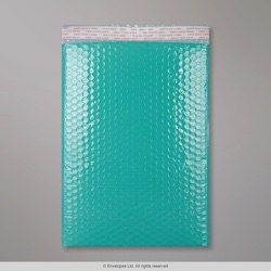 340x240 mm Robin Egg Blue Poly Gloss Bubble Bag