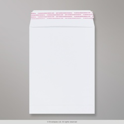 241x178 mm White Post Marque Envelope, White, Peel and Seal