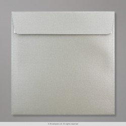 170x170 mm Silver Pearlescent Envelope
