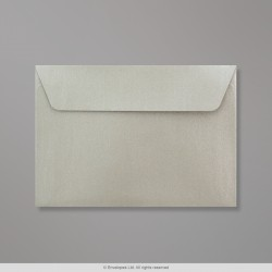 114x162 mm (C6) Silver Pearlescent Envelope