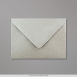 82x113 mm (C7) Silver Pearlescent Envelope
