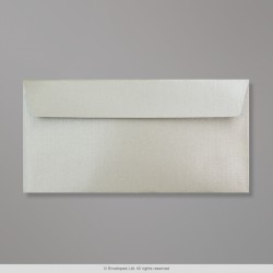 110x220 mm (DL) Silver Pearlescent Envelope