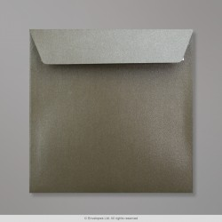 155x155 mm Medium Taupe Pearlescent Envelope