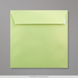 155x155 mm Lime Pearlescent Envelope