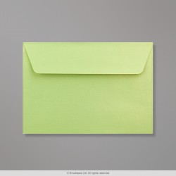 114x162 mm (C6) Lime Pearlescent Envelope
