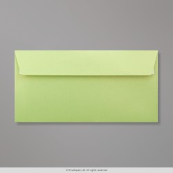 110x220 mm (DL) Lime Pearlescent Envelope