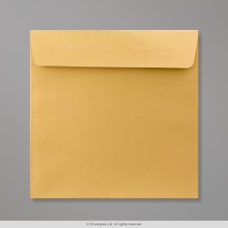 170x170 mm Gold Pearlescent Envelope