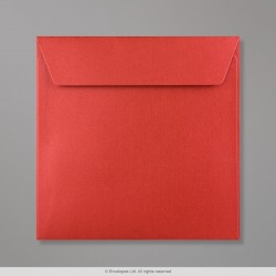 155x155 mm Cardinal Red Pearlescent Envelope