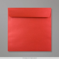 170x170 mm Cardinal Red Pearlescent Envelope
