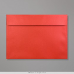 229x324 mm (C4) Cardinal Red Pearlescent Envelope