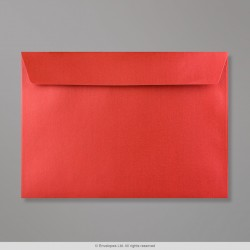 162x229 mm (C5) Cardinal Red Pearlescent Envelope
