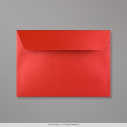 114x162 mm (C6) Cardinal Red Pearlescent Envelope