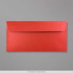 110x220 mm (DL) Cardinal Red Pearlescent Envelope