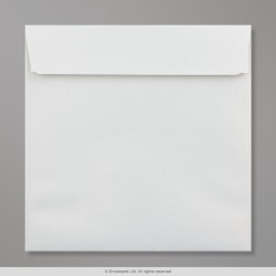 170x170 mm White Pearlescent Envelope