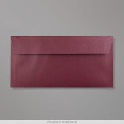 110x220 mm (DL) Aubergine Pearlescent Envelope