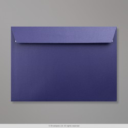 162x229 mm (C5) Midnight Blue Pearlescent Envelope
