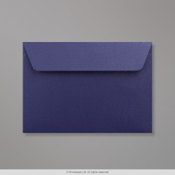 114x162 mm (C6) Midnight Blue Pearlescent Envelope, Midnight Blue, Peel and Seal