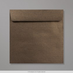 170x170 mm Bronze Pearlescent Envelope