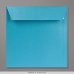 155x155 mm Baby Blue Pearlescent Envelope