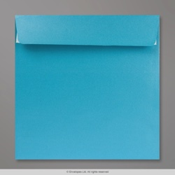 170x170 mm Baby Blue Pearlescent Envelope