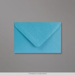 62x94 mm Baby Blue Pearlescent Envelope