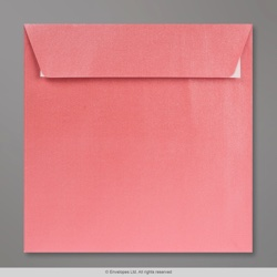 155x155 mm Baby Pink Pearlescent Envelope, Baby Pink, Peel and Seal