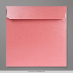 170x170 mm Baby Pink Pearlescent Envelope