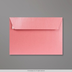 114x162 mm (C6) Baby Pink Pearlescent Envelope, Baby Pink, Peel and Seal