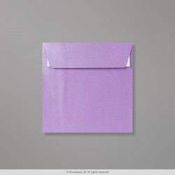 130x130 mm Lavender Pearlescent Envelope, Lavender Pearlescent, Peel and Seal