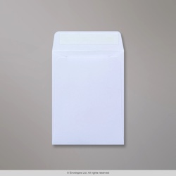 92x68 mm White Envelope, White, Peel and Seal