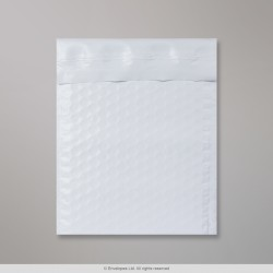 195x145 mm White Recyclable Bubble Bag