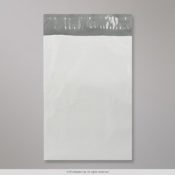 170x245 mm White Polyethylene Mailing Bag