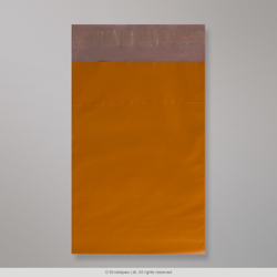 230x345 mm Dark Orange Polyethylene Mailing Bag
