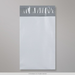 230x345 mm White Polyethylene Mailing Bag