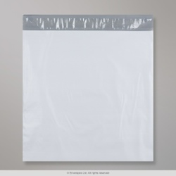 410x410 mm White Polyethylene Mailing Bag