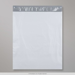 450x525 mm White Polyethylene Mailing Bag
