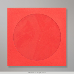 126x126 mm Red CD Envelope