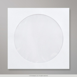 126x126 mm White CD Envelope