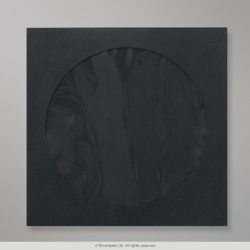 85x85 mm Black CD Envelope