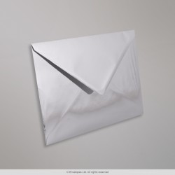 162x229 mm (C5) Silver Mirror Finish Envelopes