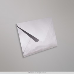 82x113 mm (C7) Silver Mirror Finish Envelopes