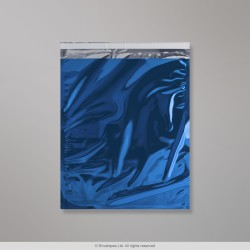324 x 254 mm Blue Foil Bag