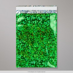 162x114 mm (C6) Green Holographic Foil Bag