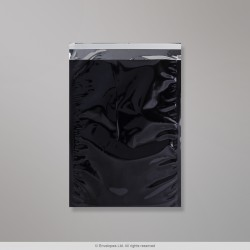 324x229 mm (C4) Black Foil Bag