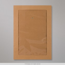 SW324-FV - 324x229 mm (C4) String & Washer Manilla Envelope Full Window
